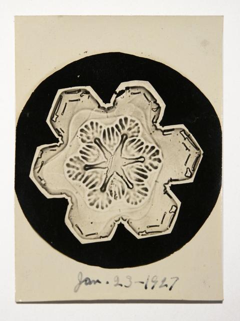 , 'Snowflake,' 1927, Richard Levy Gallery