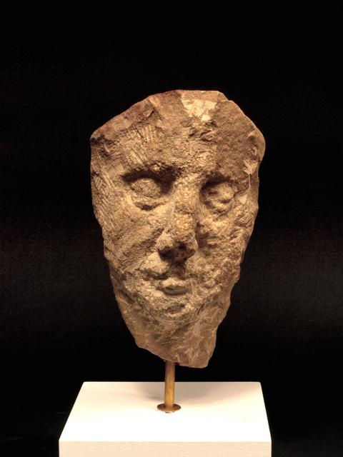 , 'Umbrian Head in Stone, 3,' 1981, New York Studio School