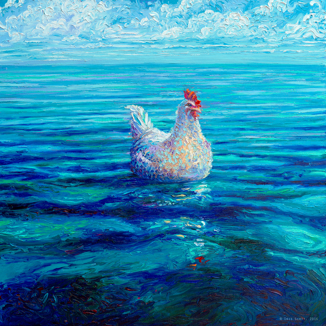 , 'Chicken of the Sea (Embellished Artist's Proof),' 2018, Filo Sofi Arts