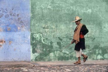 Fred Herzog, 'Man Walking, Antigua', 1964, Laurence Miller Gallery