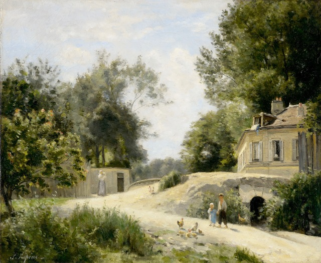 , 'Chemin à Montmartre,' , Stoppenbach & Delestre