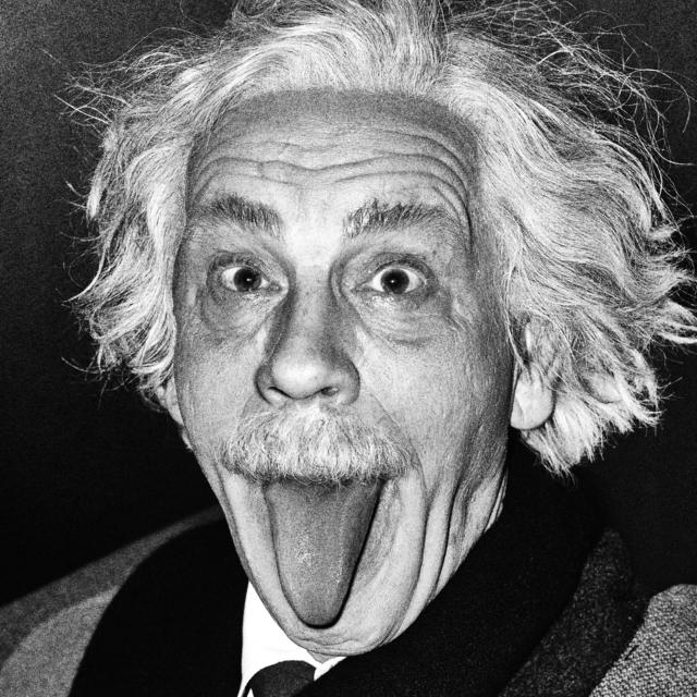 , 'Arthur Sasse / Albert Einstein Sticking Out His Tongue (1951),' 2014, Ira Stehmann Fine Art Photography