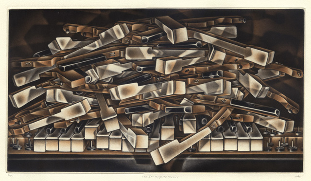, 'The Ill-Tempered Klavier,' 2015, Conrad R. Graeber Fine Art