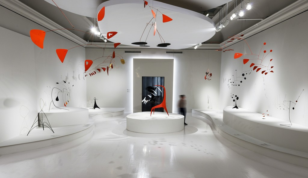 Alexander Calder: Radical Inventor exhibition, presented at the Montreal Museum of Fine Arts from September 21, 2018, to February 24, 2019. Copyright: © 2018 Calder Foundation, New York / Artists Rights Society (ARS), New York / SOCAN, Montreal Crédit photo: Photo MMFA, Denis Farley