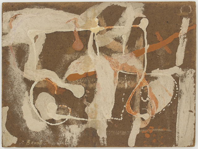 James Brooks (1906-1992), 'Untitled', 1952, Eric Firestone Gallery