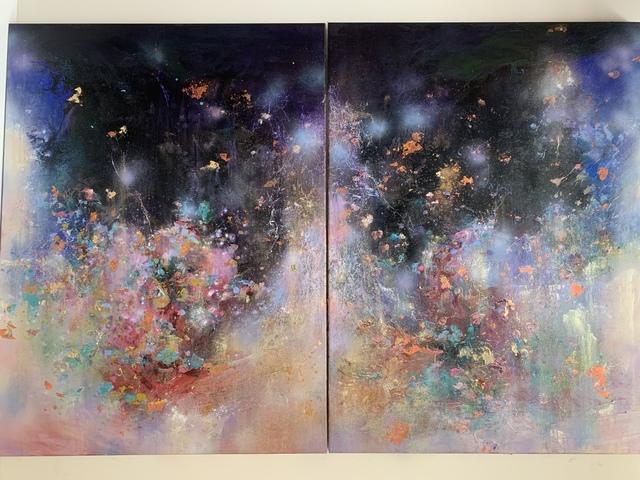 , 'Odyssey (diptych) ,' 2018, Steidel Contemporary