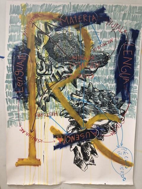 , 'Crónica de las ausencias 4,' 2018, Parque Galería