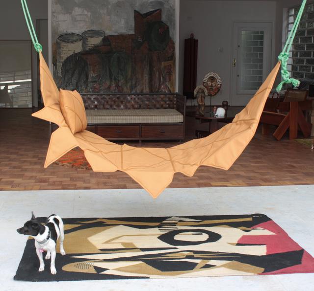 , 'Rede de Descanso in fabric and leather,' 2015, Legado Arte