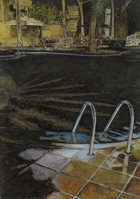 , 'black star,' 2012, Mike Karstens Galerie
