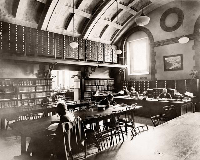 , 'Boston Public Library Reading Room,' ca. 1929, Panopticon Gallery