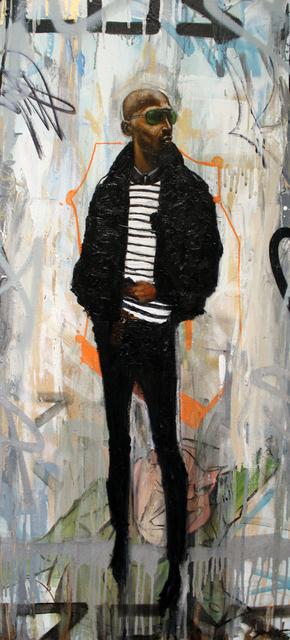 , 'Genuine Like Leather,' 2017, Richard Beavers Gallery