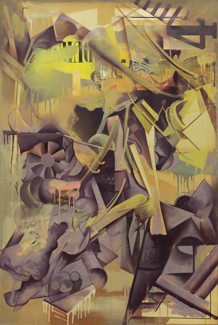 , ' Edward geht es wie,' 2014, Galerie Ernst Hilger