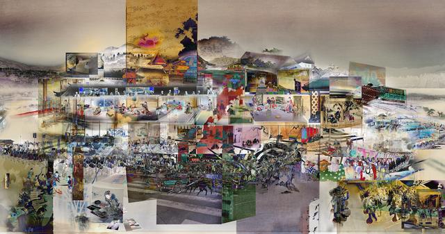 , 'Inre yttre palats III,' 2017, Cecilia Hillström Gallery