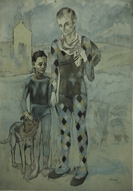 , 'Les Saltimbanques,' 1905-1922, Galerie Céline Moine & LGFA