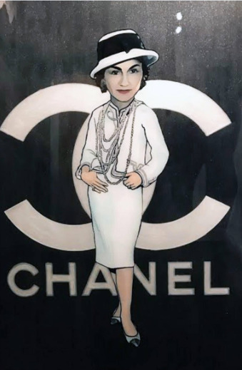 , 'Chanel,' 2017, Mouche Gallery