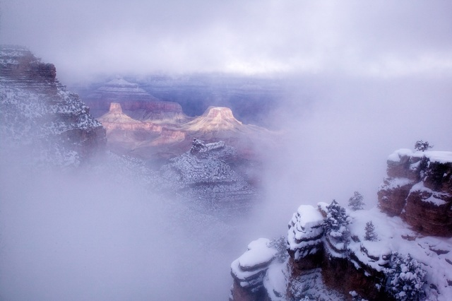 , 'Bright Angel Point, Grand Canyon National Park,' 2006, Philadelphia Museum of Art
