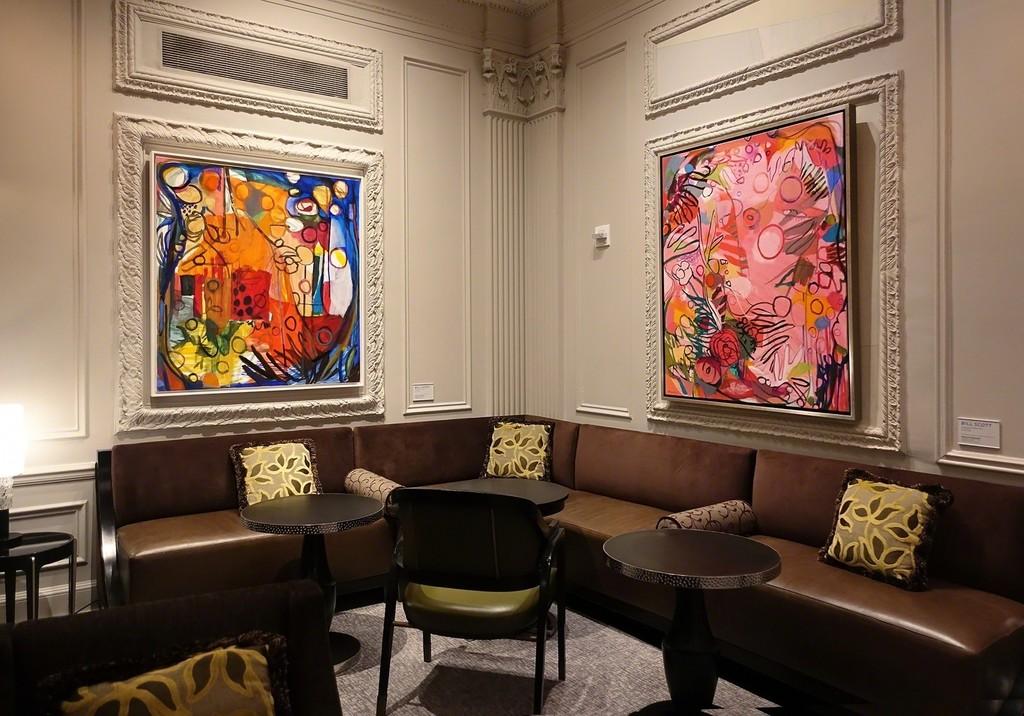 Installation view: Bill Scott at The Pierre