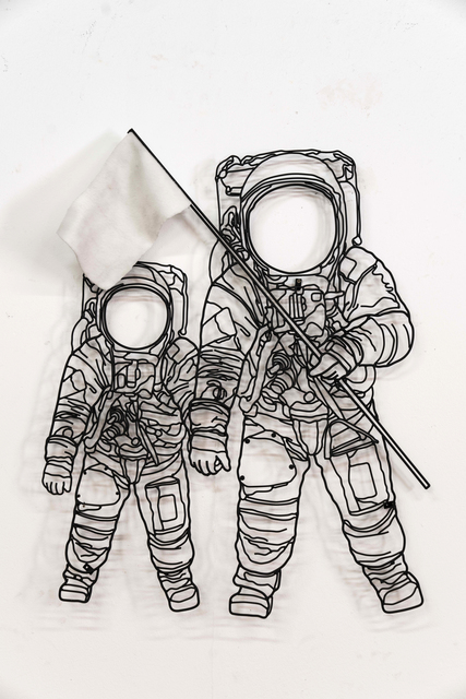 , 'Astronauts,' 2017, Victor Lope Arte Contemporaneo