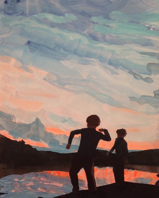 , 'Sunset II,' 2015, Tayloe Piggott Gallery