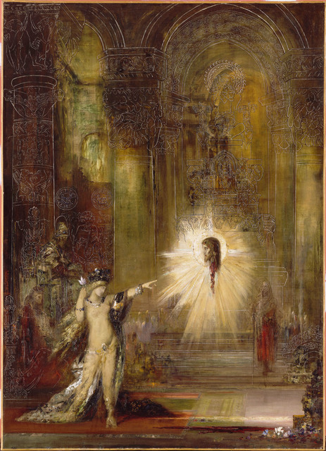 Image result for Gustave Moreau Museum Salome