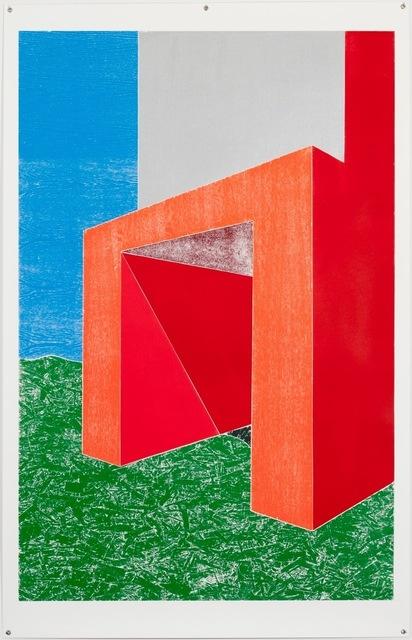 , 'Woodcuts (Entrance),' 2011, Bernier/Eliades