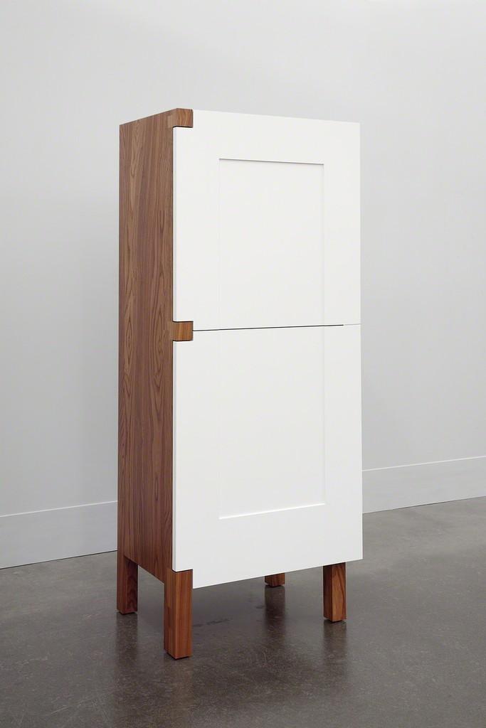 Roy McMakin, 'A One Door Two Door Cabinet,' 2014, Lora Reynolds Gallery