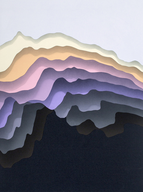 , 'Split 2,' 2015, Hashimoto Contemporary