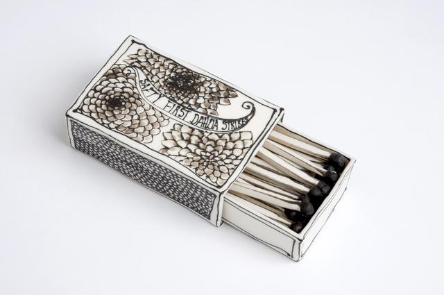 , 'Matchbox with Dahlia design,' 2016, Priveekollektie Contemporary Art | Design