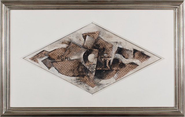 , 'Cubist Composition,' ca. 20, Rosenberg & Co.