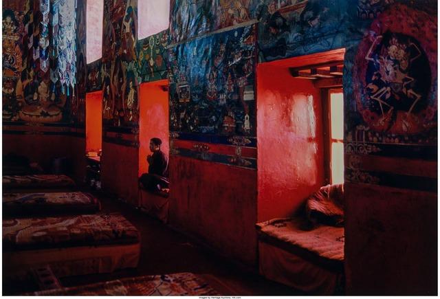 Steve McCurry, 'Monk Meditating in Monastery, Sakya, Tibet', 2000, Heritage Auctions