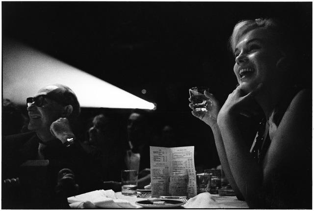 Elliott Erwitt, 'Marilyn Monroe and Lee Strasberg Watching the Rushes of 'The Misfits', Reno, Nevado, 1960', 1960, Huxley-Parlour