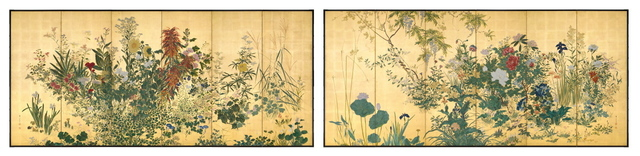 , 'Taisho Flowers of the Four Seasons,' ca. 1912, Erik Thomsen