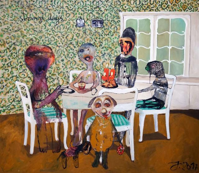 , 'Strange days,' 2017, Galeria Contrast