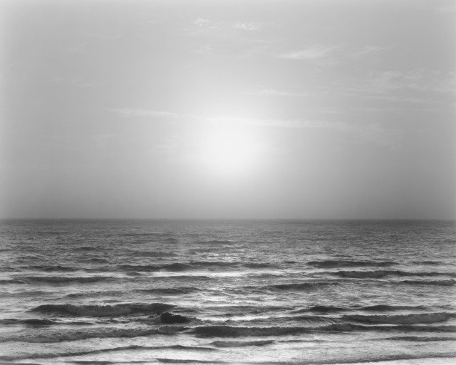 Chip Hooper, 'Sunset, Bodega Bay, Pacific Ocean', 2009, Photography, Silver print, Robert Mann Gallery