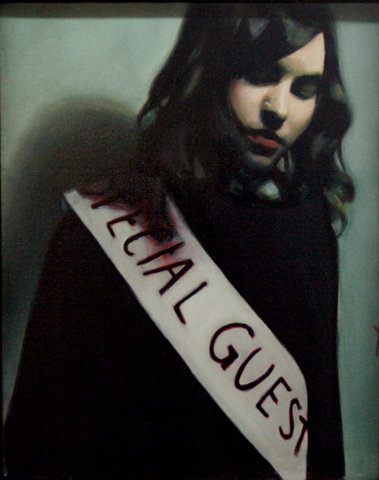 Mercedes Helnwein, 'Special Guest', 2012, Painting, Oil on canvas, KP Projects