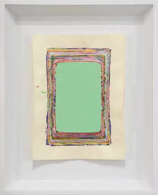 , 'Lite Green on Paper,' 2016, Monte Clark Gallery