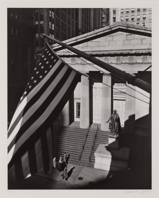 Berenice Abbott, 'Treasury Building from J.P. Morgan Office', 1936, Doyle