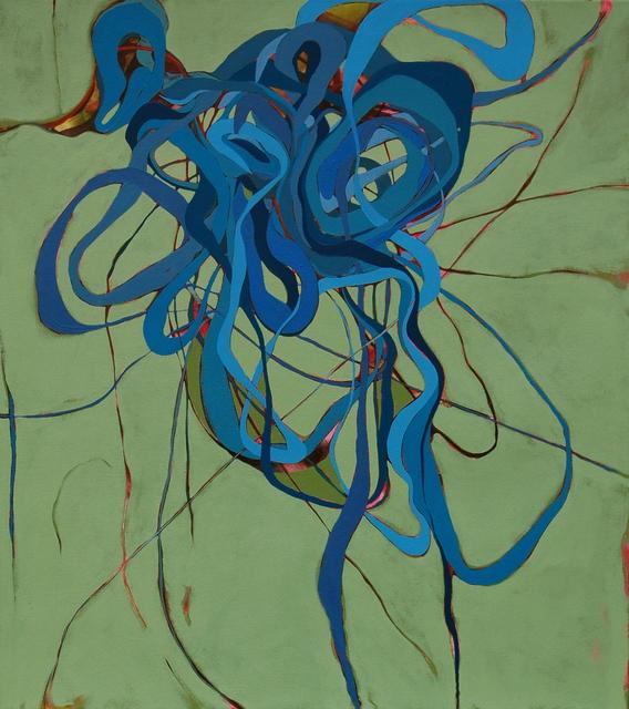 , 'Blue in Green,' 2018, Walker Fine Art