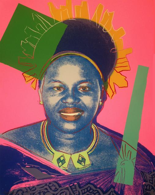 Andy Warhol, 'Queen Ntombi Twala of Swaziland (FS II.346) - TP', 1985, Revolver Gallery