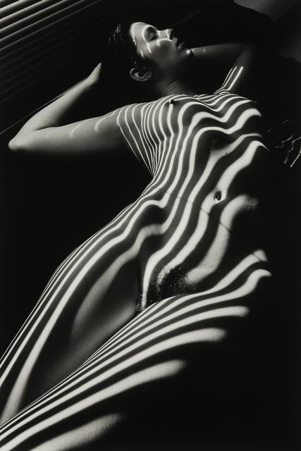 Lucien Clergue, 'Nu Zébré avec Tête, New York', 1998, Modernism Inc.