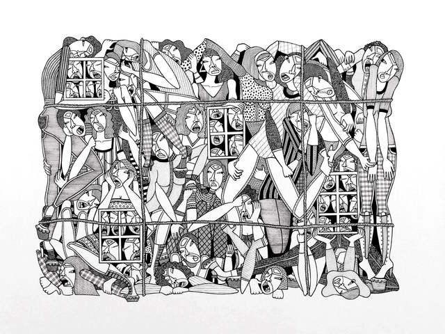 , 'Pandora's Box,' 2016, Hemphill Artworks