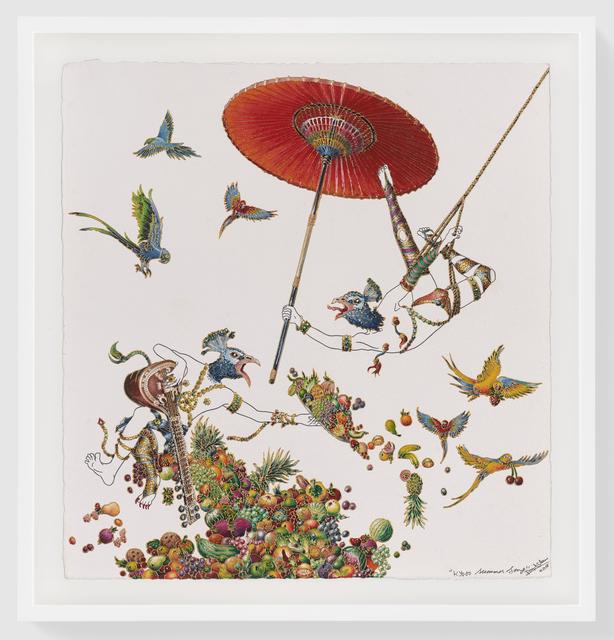 Raqib Shaw, 'Kyoto Summer Song', 2018, Pace Gallery