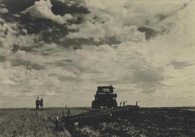 Margaret Bourke-White, 'Soukhoz No 2- Rikud, USSR', 1930, Swann Auction Galleries