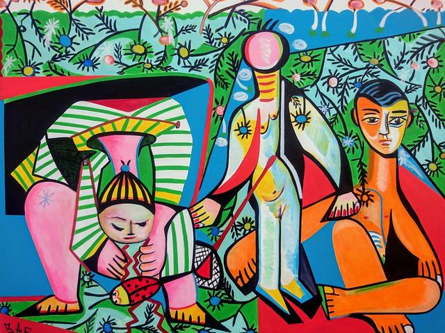 , 'Promenade au Parc Francois 1er,' 2017, BOCCARA ART