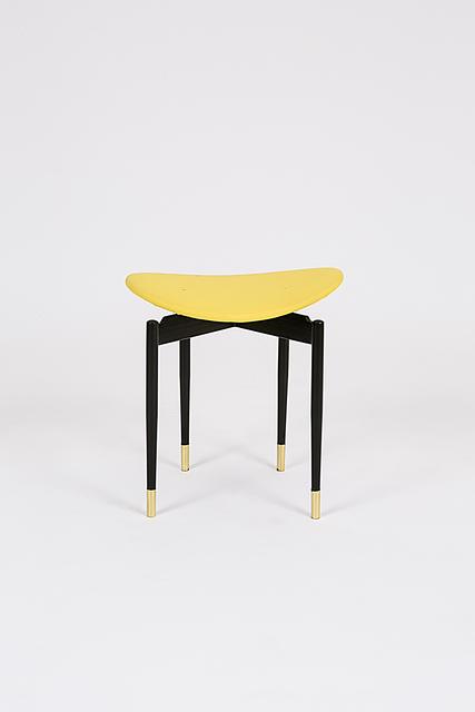", 'Single ""Lutrario"" stool,' 1959, Salon 94"