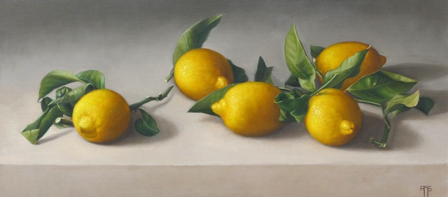 , 'Lemons,' 2017, The Biscuit Factory