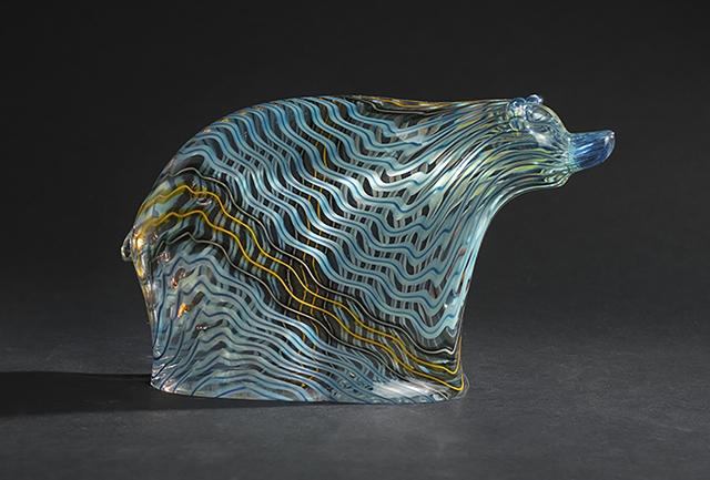 , 'Sage Lightning Bear,' 2018, Blue Rain Gallery