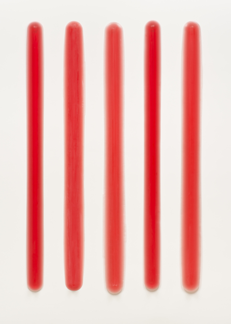 , 'Five Part Bars (Red),' 2013-2014, Brian Gross Fine Art