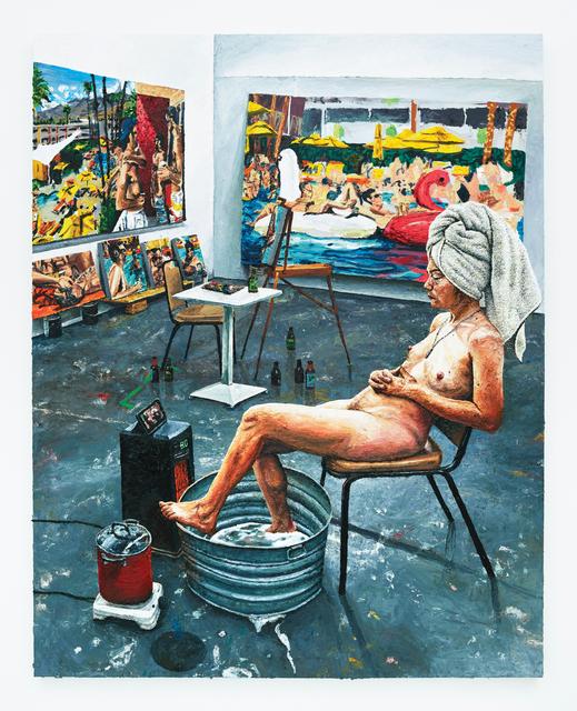 , 'Ava in the Studio,' 2017, Depart Foundation