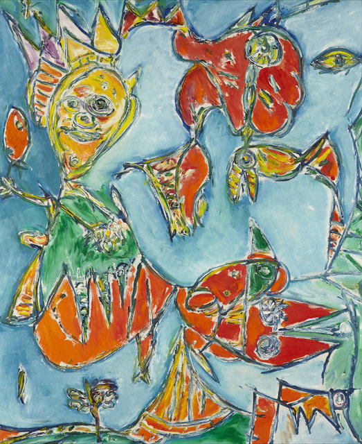 , 'Forfra og bagfra,' 1988, DIE GALERIE
